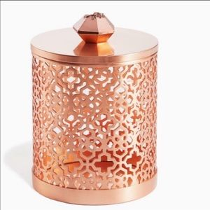 NWT Kendra Scott Rose Gold Drusy Filigree Canister